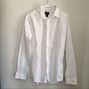 Men's Slim Fit Easy Iron Dress Shirt